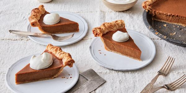 Civil Rights Spiced Sweet Potato Pie
