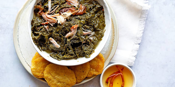 The Best Southern-Style Mustard Greens with Smoked Turkey