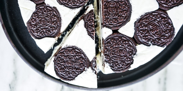 Cookies-and-Cream Icebox Cake