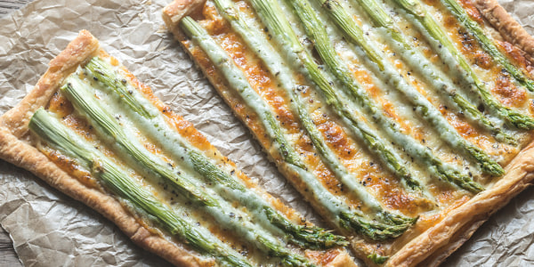 Valerie Bertinelli's Asparagus, Herb and Goat Cheese Tart