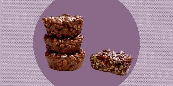 Joy Bauer's Chocolate-Peanut Butter Crunch Cups