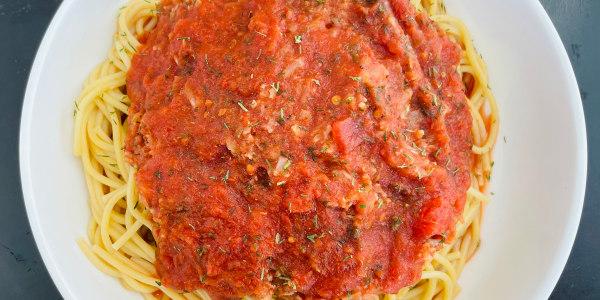 Best-Ever Cauliflower Bolognese Spaghetti