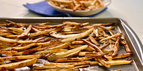 Joy Bauer's Oven-Baked French Fries