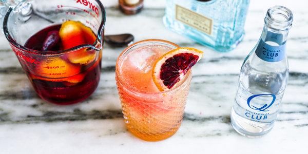 Hibiscus-Orange Simple Syrup