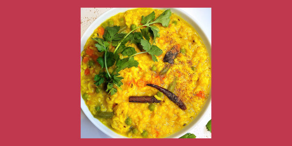 Indian-Spiced Khichdi
