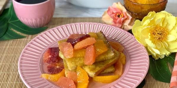 Sunny Citrus Sheet-Pan Pancakes