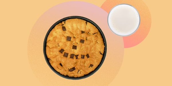 Air-Fryer Chocolate Chip Cookie