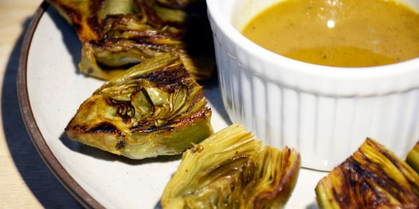 Sautéed Baby Artichokes with Buttery Pan Sauce