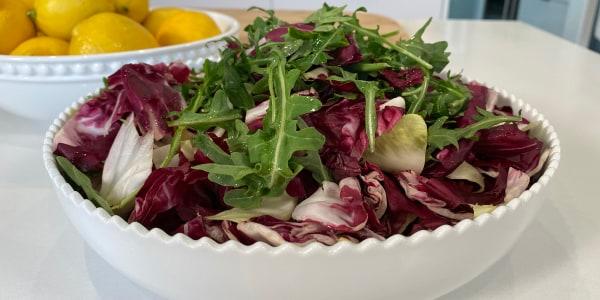 Giada's Simple Salad of Bitter Greens