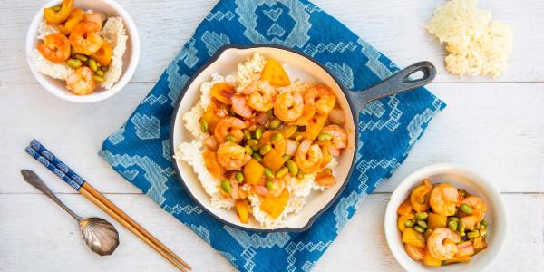 Guoba with Shrimp Sauce