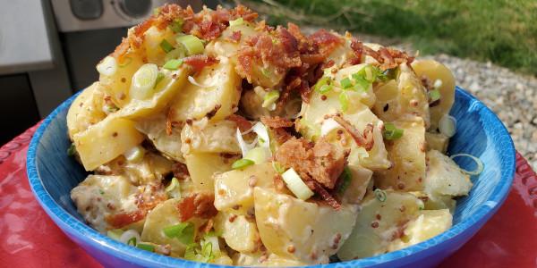 Sunny Anderson's Easy Potato and Bacon Salad