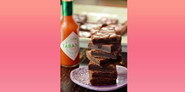 Spicy Tabasco Brownies