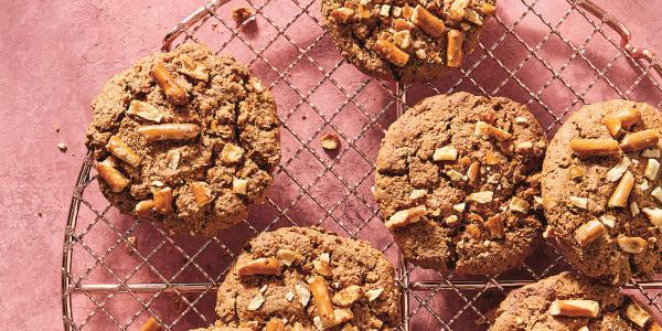 Pretzel Tahini Cookies