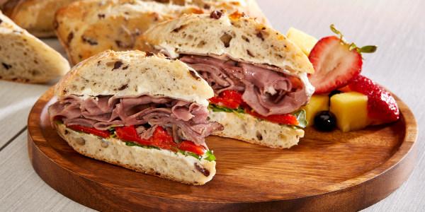 Dylan's Boursin and Roast Beef Sandwich