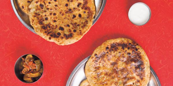 Aloo (Potato) Parathas