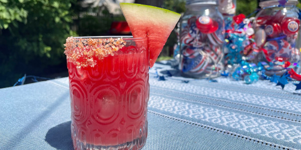 Spicy Watermelon Sip
