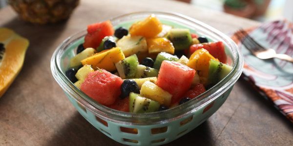 Chile-Lime Fruit Salad