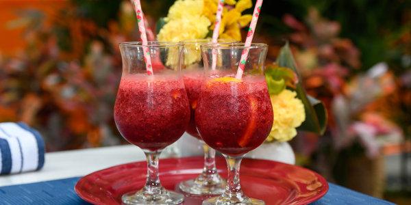 Raspberry Sangria Slushies