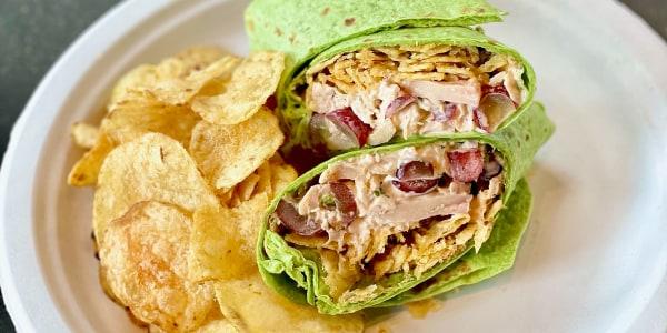 Chicken Salad Crunch Wraps