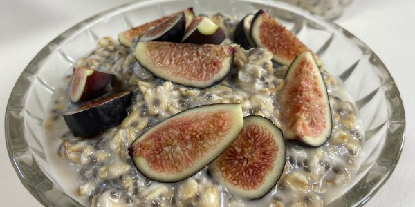 Overnight Oats with Figs