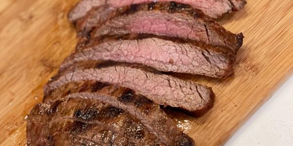 Italian Marinated Grilled Flank Steak