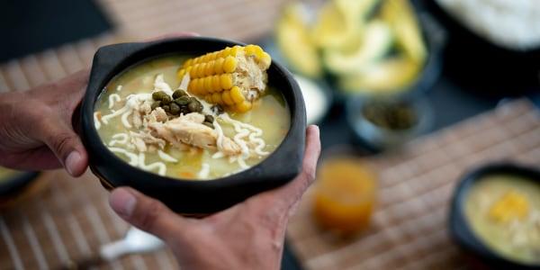 Ajiaco Santafereño (Colombian Chicken and Potato Soup)