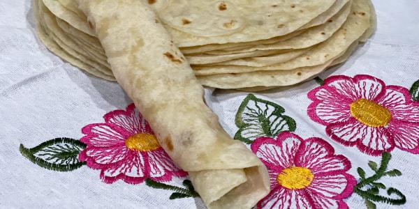 Buttery Flour Tortillas