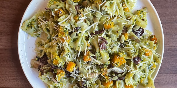 Bowtie Pasta Salad with Roasted Butternut Squash