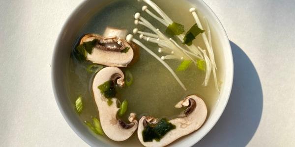 Mushroom Miso Soup