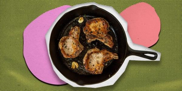 Dominican Chuletas Fritas (Fried Pork Chops)