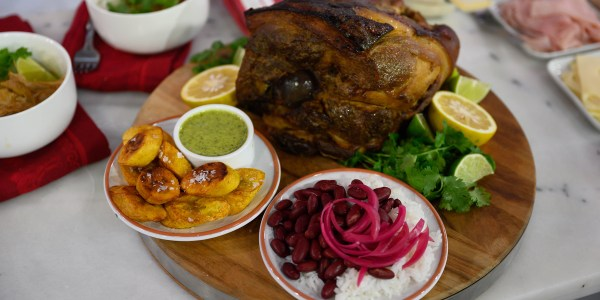 Pernil (Puerto Rican Slow-Roasted Pork Shoulder)