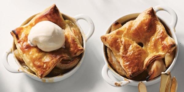 Martha Stewart's Apple-Bourbon Potpies