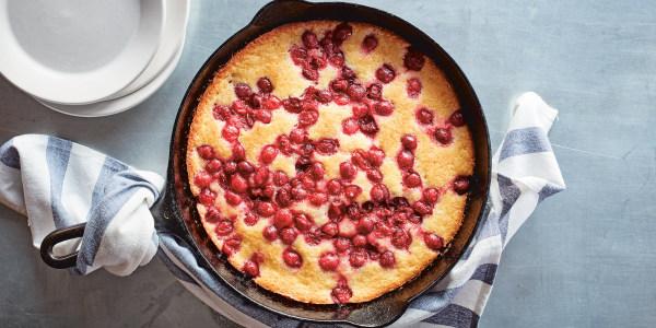 Martha Stewart's Cranberry Skillet Cake