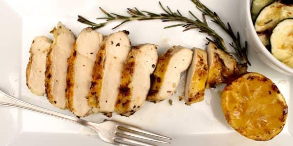 5-Ingredient Lemon-Rosemary Grilled Chicken Breasts