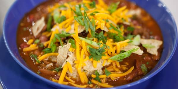 Classic Beef Chili with Beans