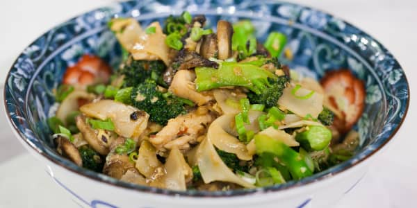 Chrissy Teigen's Actual Drunken Noodles