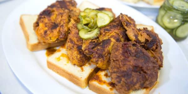 Nashville Hot Fried Chicken