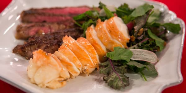 Butter Poached Lobster Salad