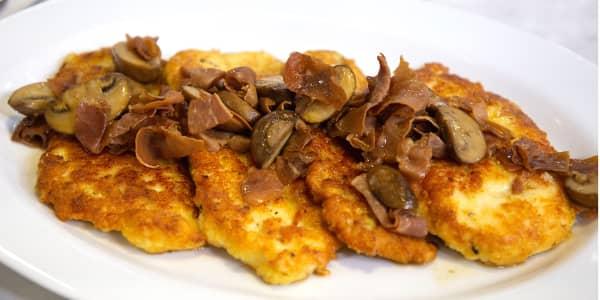 Adam Richman's Chicken Marsala