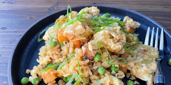 Cauliflower Vegetable Fried Rice