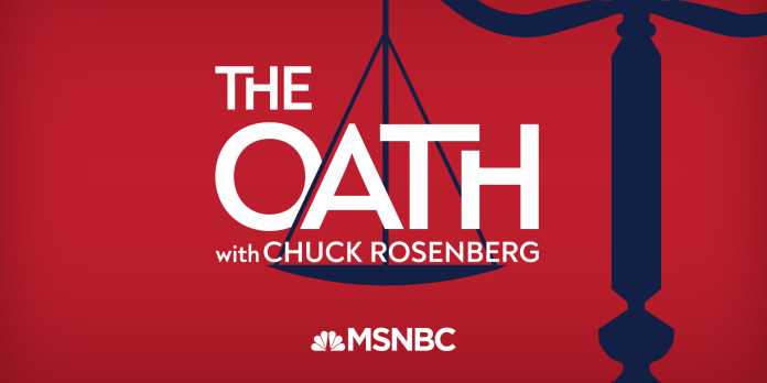 The Oath with Chuck Rosenberg | NBC News