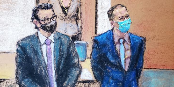 Image: Murder trial of former Minneapolis police officer Derek Chauvin
