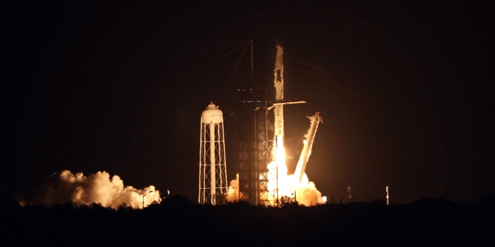 Image: SpaceX Falcon 9 launch