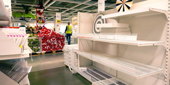 Image: World's Largest Furniture Seller IKEA Hit By Global Supply Chain Issues