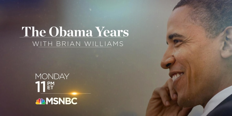 The Obama Years with Brian Williams