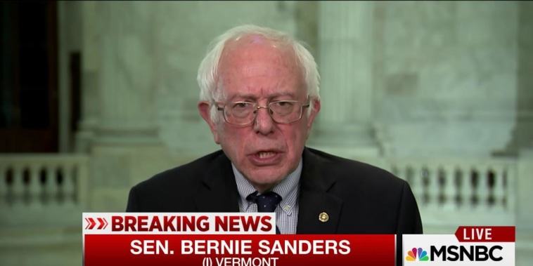 Sanders: Flynn damaged himself in 'serious way'