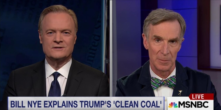 Bill Nye on Trump's climate orders: 'Clean coal is a myth'