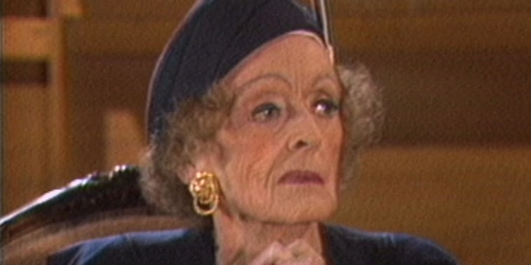 Bette Davis talks to Bryant Gumbel in 1987 interview