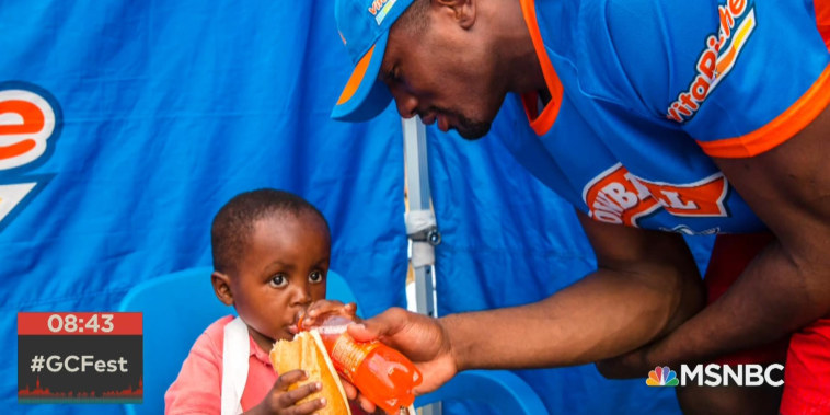 Serge Ibaka on health and education in Africa