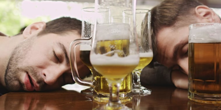 Hungover? It could have something to do with your parents, at least partially